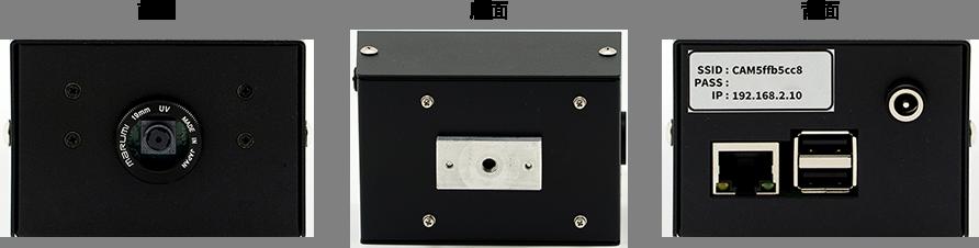 LISr-IPC1 無線LAN(IEEE802.11b/g/n 2.4GHz)/有線LAN(100BASE-TX)対応
